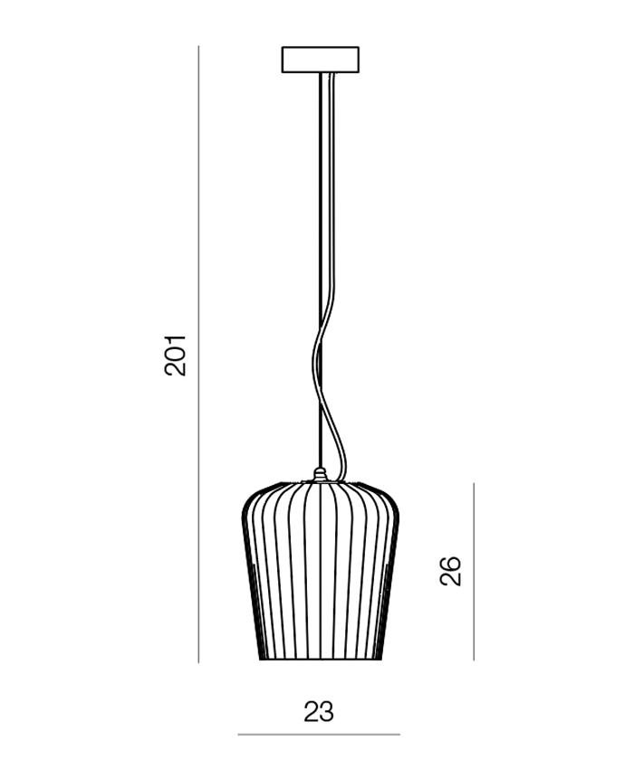 Plissè LS-ESC giarnieri lighting