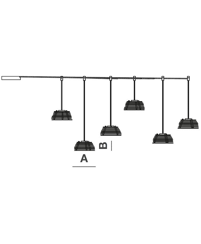 Stratos Mtc S D6 giarnieri lighting